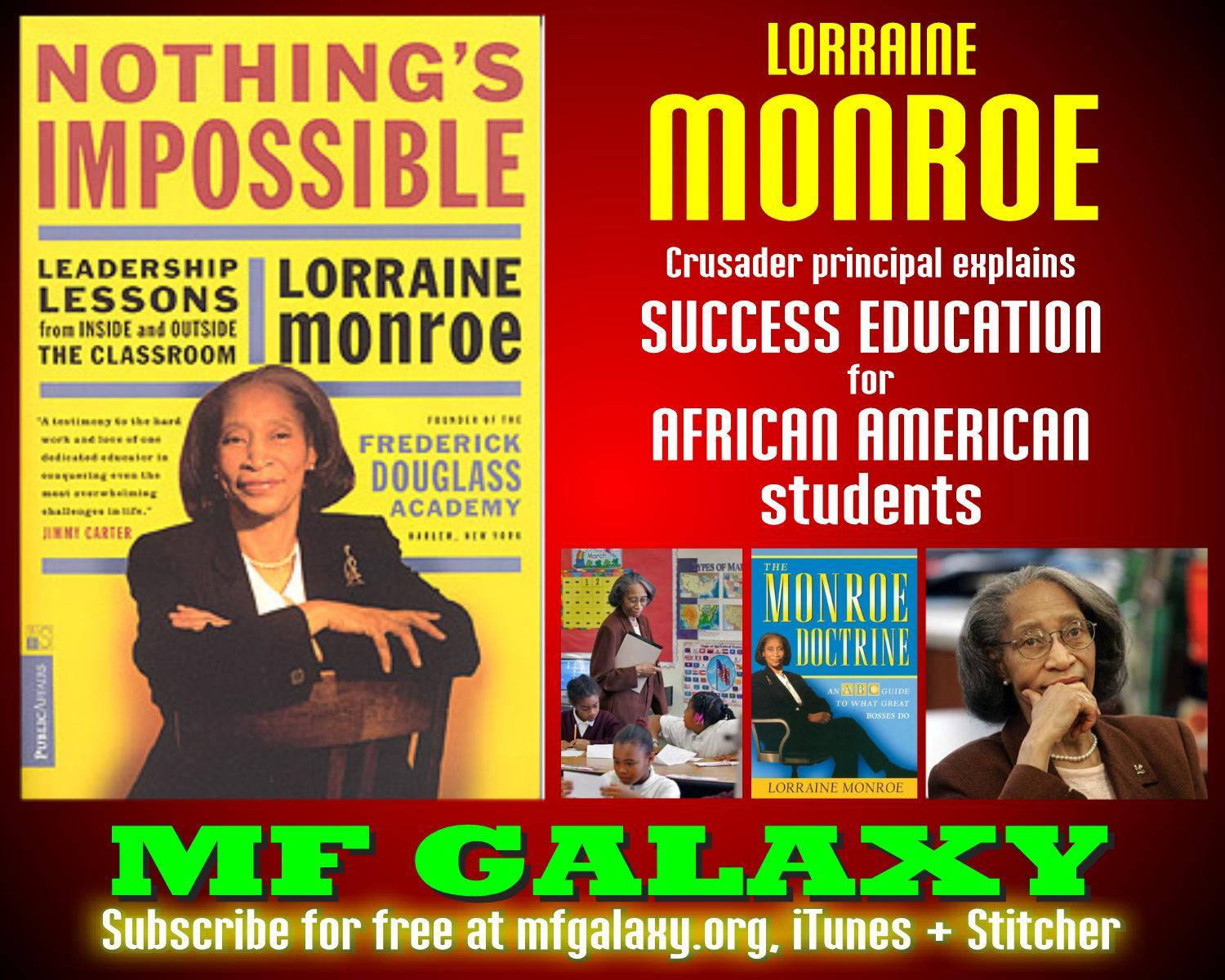 leadership qualities of lorraine monroe If searched for a ebook by lorraine monroe nothing's impossible: leadership lessons from inside and outside the classroom in pdf format, then you have come on to the correct site.
